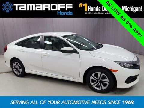 New 2016 Honda Civic LX  FWD 4D Sedan